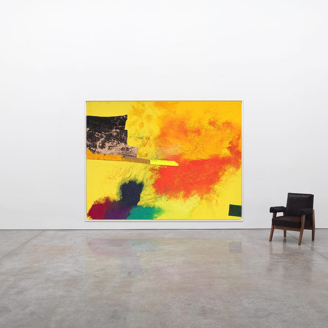 """#GagosianViewingRoom: Gagosian is pleased to announce an expanded Online Viewing Room premiering during Frieze London 2019. The upcoming presentation, developed in collaboration with Sterling Ruby, will feature seven primary-market artworks from the personal archive of Ruby, including one new painting and one new sculpture made for this occasion. Ruby has selected seven pertinent secondary-market works by historical artists to be shown each in dialogue with one of his own.  The Online Viewing Room will open concurrently with Ruby's solo booth at Frieze London, featuring paintings from his """"WIDW"""" series, as well as his solo exhibition of sculptures produced over the past decade, opening on October 2 at Gagosian, Britannia Street, London. It will open at 12:00am on Saturday, September 28, in Hong Kong, and close at 11:59pm on Monday, October 7, in Los Angeles and San Francisco. Sign up for updates via the link in our bio! __________ #SterlingRuby #FriezeArtFair #FriezeLondon #FriezeWeek Sterling Ruby, """"LANDING"""