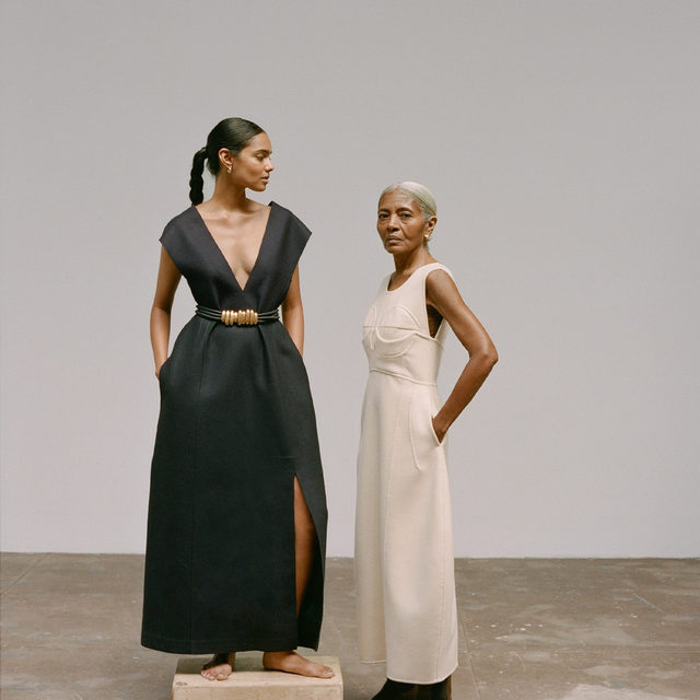 Of all the fall trends, few are truly timeless. We asked a 24-year-old and 64-year-old to model the three most classic trends of the season to prove that they're ageless—tap our link to see the side-by-side looks. #thefallissue photo: @katiemccurdy_