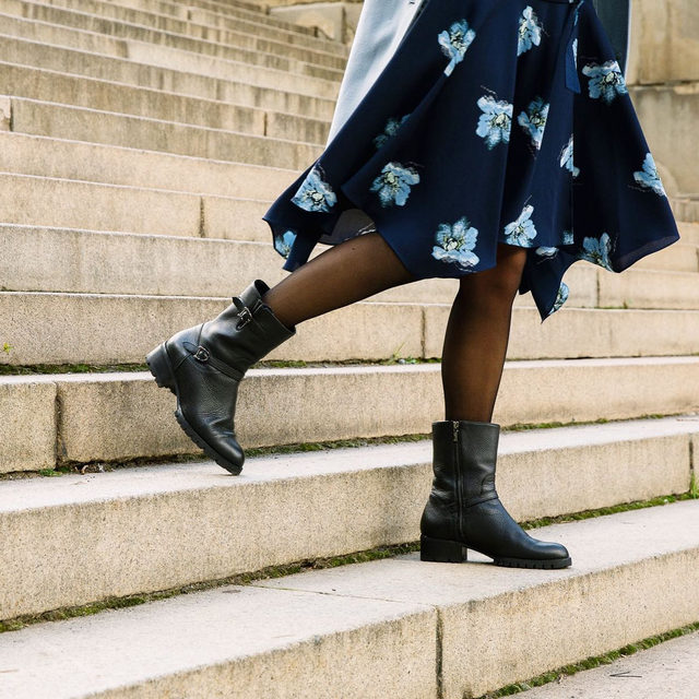 Meet our latest all-weather boot. #walklikeawoman