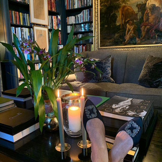 That time of day.. love our new candle accessories for fall... #AERINhome