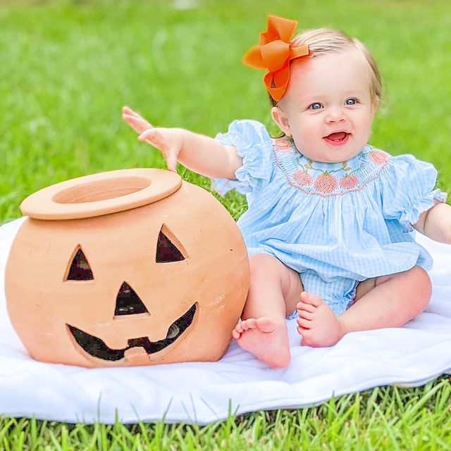 YAY for pumpkin season 🎃 Don't forget to share with us (#shrimpandgritskids} your pumpkin patch pics for a chance to be featured!