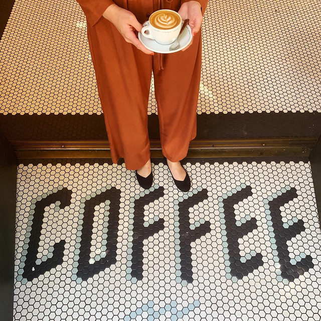 Coffee ✔️ Shoes ✔️ More coffee ✔️ #happynationalcoffeeday