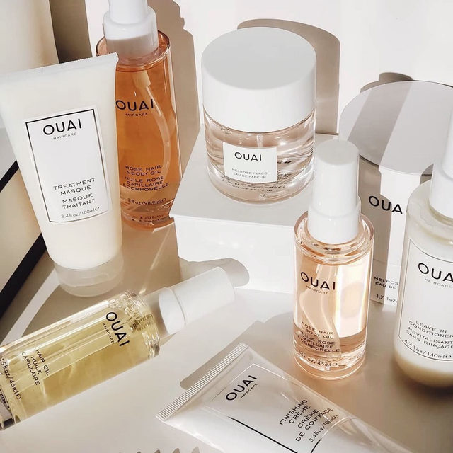 stepping up our @theouai game💦 all these products are formulated to hydrate + repair damaged hair - tap the image to shop <regram: @beautiliciousc>