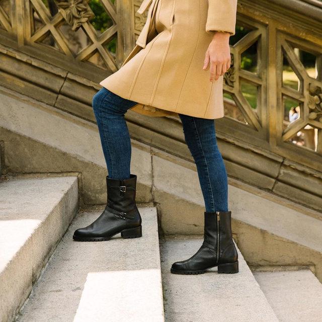 Give 'em the boot. #walklikeawoman
