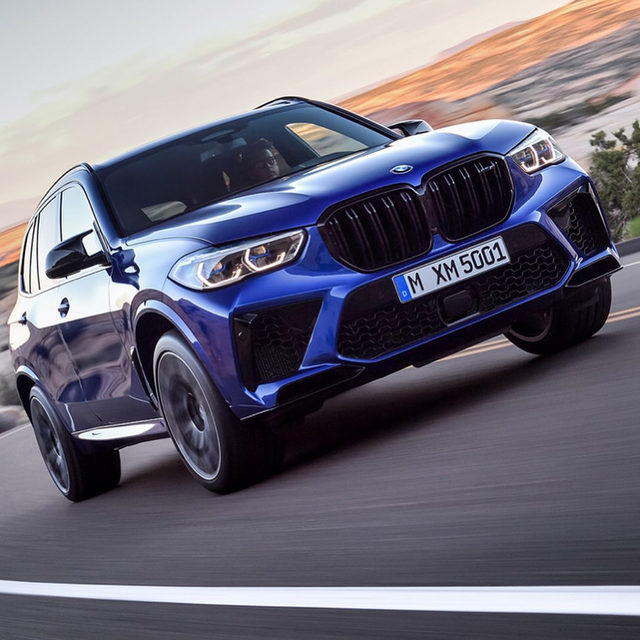 The BMW X5 M and X6 M are all new for 2020. They get the M5's 617 HP twin-turbo V-8 in Competition form, as well as an all new xDrive all-wheel drive system with an active rear differential. The 0-60 sprint happens in just 3.7 seconds, which is really, really quick. Which one would you rather have?