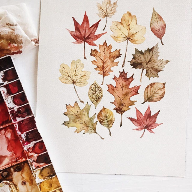 Happy October! We're ready for cooler temps, leaves changing colors, and all the coziness. What are you most excited about? 🍂🎃🍁 — Art by #MintedArtist @wildfieldpaperco.