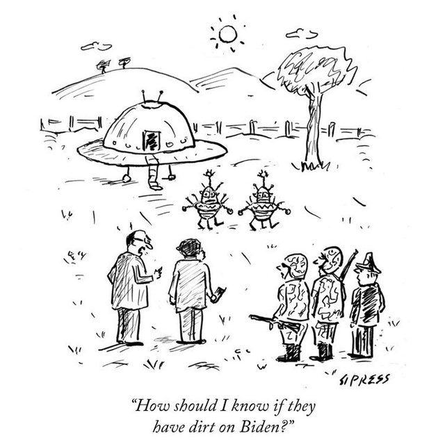 The aliens weigh in. #TNYcartoons
