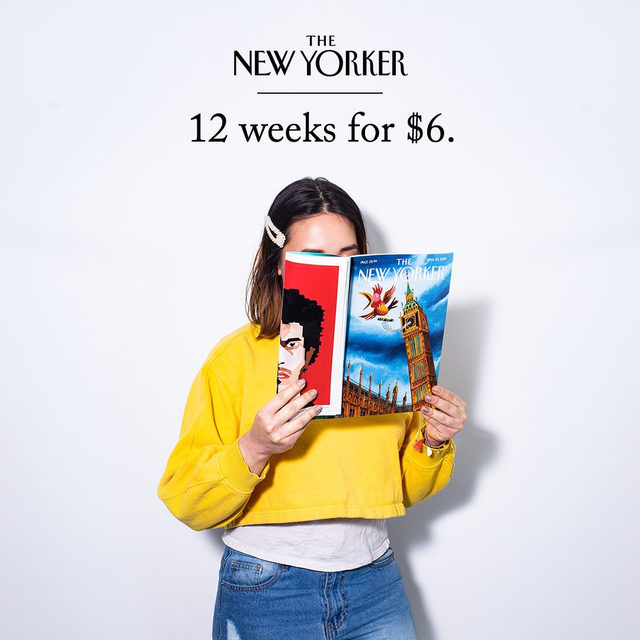 The New Yorker sale is here! Save 50 per cent and get a free tote. The sale offer is valid in the U.S. and internationally. Click the link in our bio to learn more. Questions? Contact customer service at 1-800-825-2510 or NYRcustserv@cdsfulfillment.com.