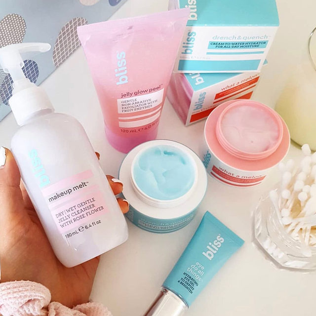 bliss beauty products