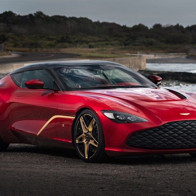 The Aston Martin DBS GT Zagato is a stunning tribute to a legend. And with 760 horsepower, it's the most powerful Aston Martin road car yet. Too bad only 19 are being built. Are you into the wild design details?
