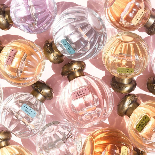 There's a @tocca for everyone! Each Tocca Girl (what the brand calls the fragrances!) represents a story, a mood, or a moment. Who will you be today? 💖  Regram: @tocca