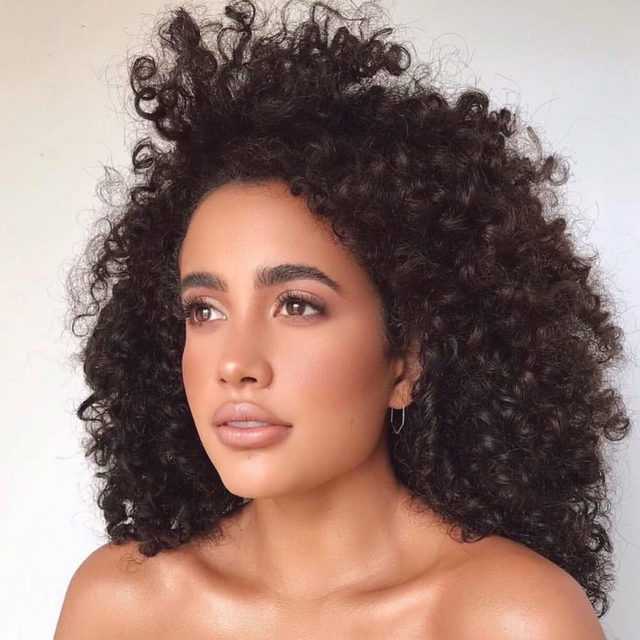 blown a-OUAI 😍 @alittlealeja uses the @theouai curl shampoo + conditioner to keep her locks bouncy, resilient + soft - link in bio to shop <mua: @matwulff>