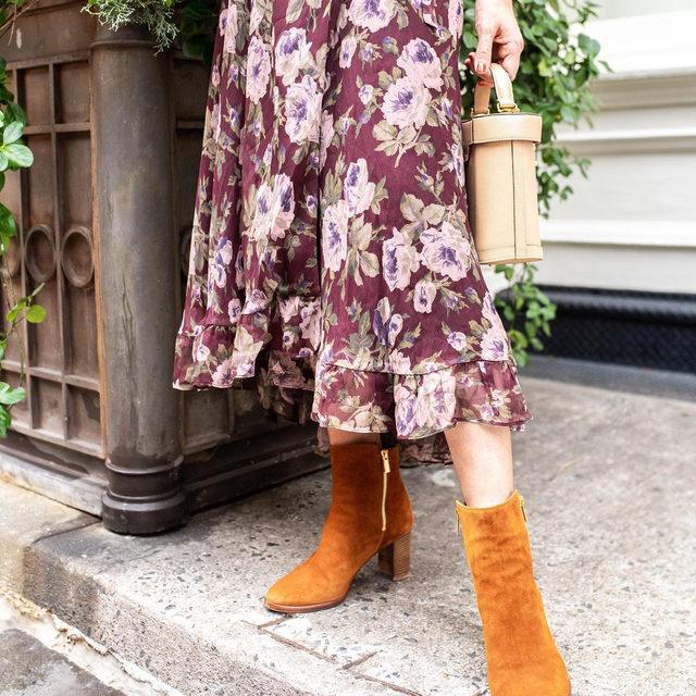 A fall favorite: the Perfect Zip Bootie. #walklikeawoman