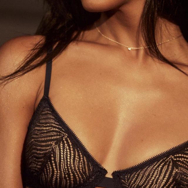 Unlined bras just got a *lot* more fierce.