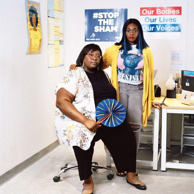 "In 2015, a group of women in Georgia set up a fund, called Access Reproductive Care-Southeast, to help black women and girls seeking abortions in the Deep South, where restrictive legislation has limited reproductive freedom for generations. ""It's not because it's cute or because it's sexy or because Stacey Abrams said 'reproductive justice' in the State of the Union response,"" one of the founders said. ""It's because it's real."" Tap the link in our bio to learn more about the fight for abortion access in the South, and how activists are finding ways to help women in need. Photograph by Andrew Lyman for The New Yorker."