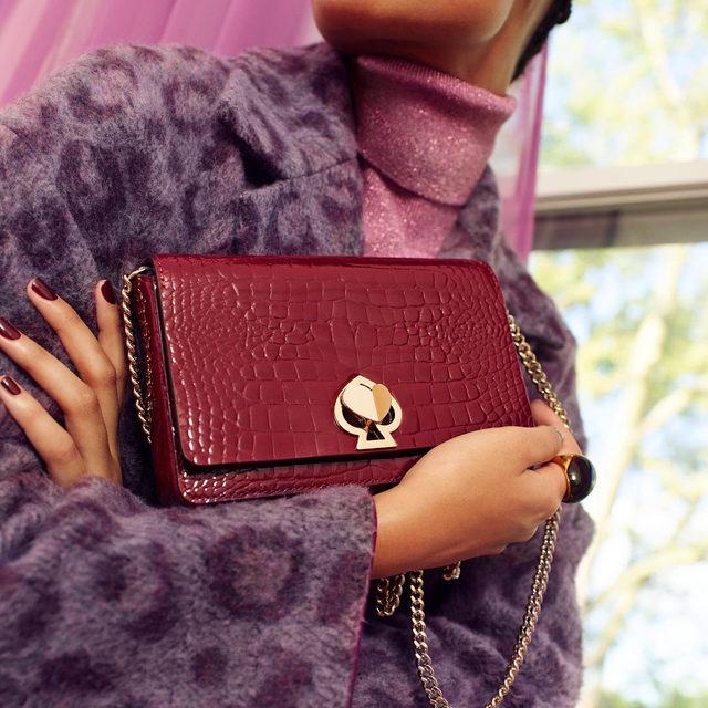 wallet by day. bag by night. 🕵️♀️ #katespade #loveinspades