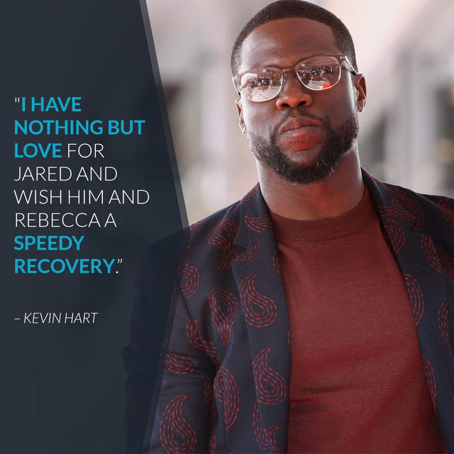 Kevin Hart is speaking out a month after the car crash that left him and two other passengers hospitalized and with major injuries. Link in bio for the full story. (📷: Getty Images)