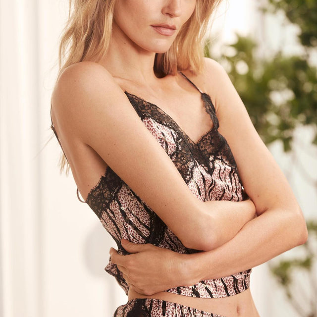 Wait 'til you get your hands on this luxe satin cami set.