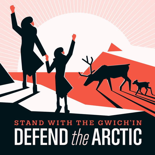 On #IndigenousPeoplesDay, we stand together with the Gwich'in people in opposition to drilling in the coastal plain of the Arctic National Wildlife Refuge, which would pose an existential threat to Indigenous communities that depend on the coastal plain for their survival and way of life. ✊ Visit the link in our profile to add your voice to their fight 📢 - #StandWithTheGwichin #ProtecttheArctic #Gwichin #defendthearctic