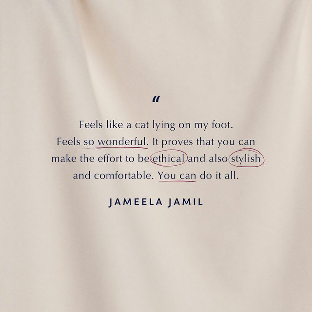What @jameelajamilofficial said 🐈 We're so thrilled to see our new merino wool collection featured in @voguemagazine. Head over to our link in bio to read more.