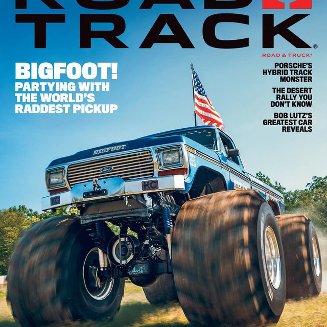 Here it is: The November issue! We drive the first Bigfoot monster truck, explore the remains of a pre-war naval fleet with a Grand Wagoneer, and capture the world's most remote rallies from inside an old Toyota. Also, we take Porsche's most powerful Cayenne to an unfinished race track in Sweden. That's why we're calling this issue Road & Truck. If you're a subscriber, check for it in your mailbox soon. If not, catch it on newsstands starting next week. 📸: @puppyknuckles