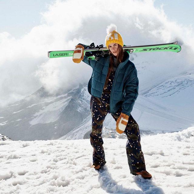 Swoosh swoosh. The Ski Shop is open. @clara.berry
