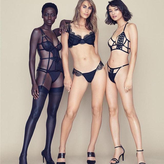 The ultimate trio: fierce, feminine, fabulous. #BluebellaforVS @bluebella