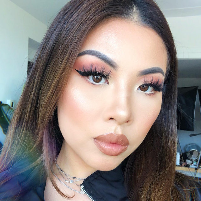 Serving us #glamgoals 🤩  Who else agrees that our She-E-O lashes looks like it was made for our #GlamGang babe, @liv.tsai ?! 💖  The new Fluff'n Glam Collection offers 8 lash styles that are flirty, fluffy and whispie. Find out what's your glam mood, exclusively at @Sephora! #VelourLashes #VelourBeauty #FluffnGlam