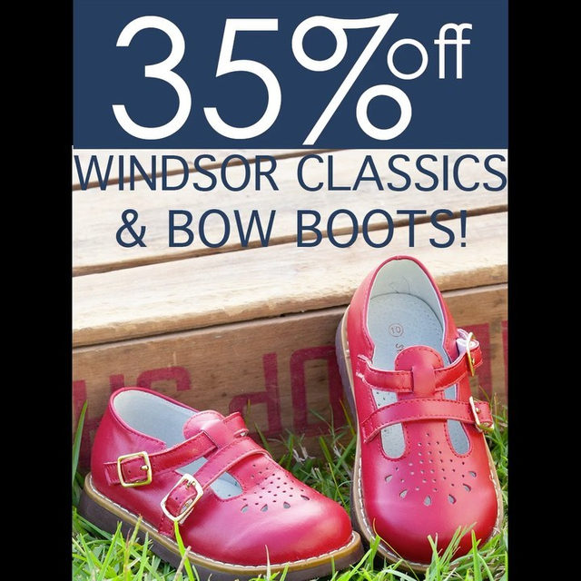 Just in time for the holidays..35% off all of our Mary Janes & Bow Boots! Shop the link in our profile.