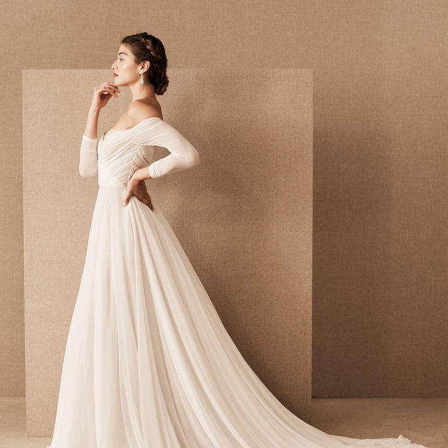Our Spring 2020 collection is timeless, romantic and full of elegance. Get your hands on these stunning gowns, Demember 2019. (From first to last: Miles, Esperita, Odalis, Dimanche, Danielle) #BHLDNSpring2020