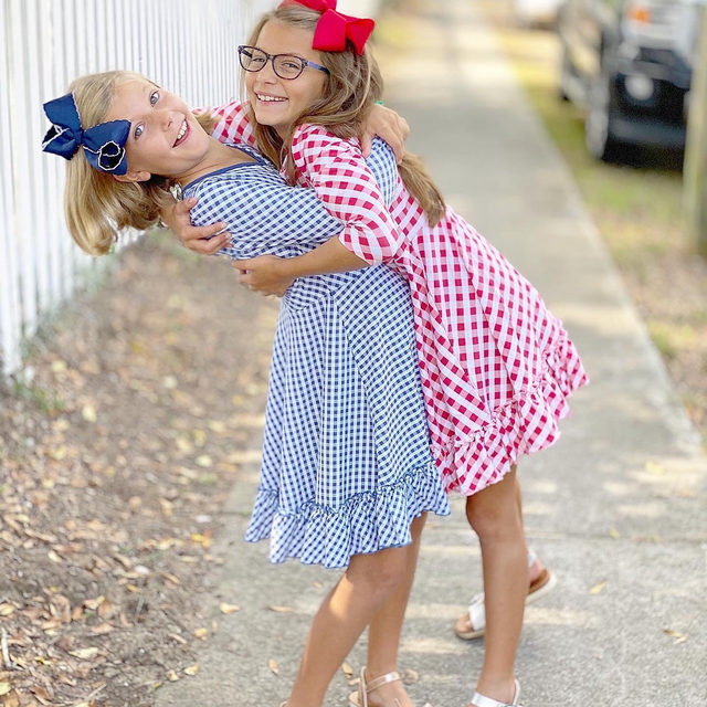 Fridays are for family fun AND sample sales 💙❤️ Swing by our sale and shop our fall deals until 5pm today! 1260 Appling Dr. Mount Pleasant, SC 29464 | @sweetsouthernprep