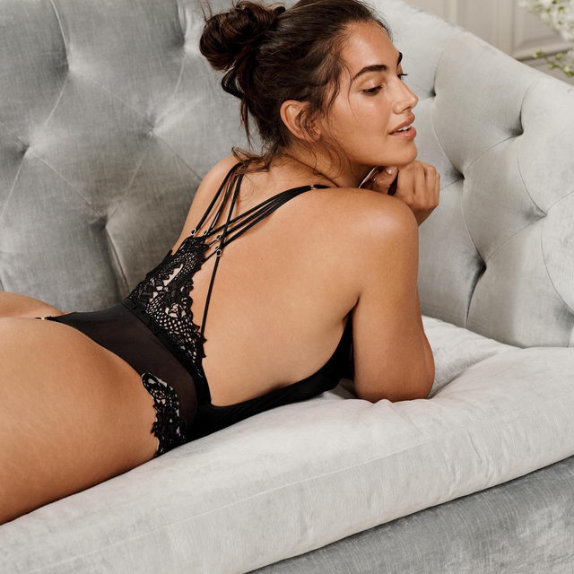 This plunge bodysuit = your wardrobe MVP. Pair with jeans or wear it alone for a seriously sexy look.