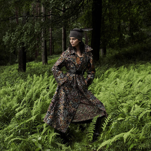 Layer season has arrived, and @KendallJenner took fall's must-have coats for a walk on the wild side. Tap the link in our bio to see every look, featuring everything from printed puffers to patterned parkas. Photographed by @studio_jackson, styled by @tabithasimmons, Vogue, November 2019