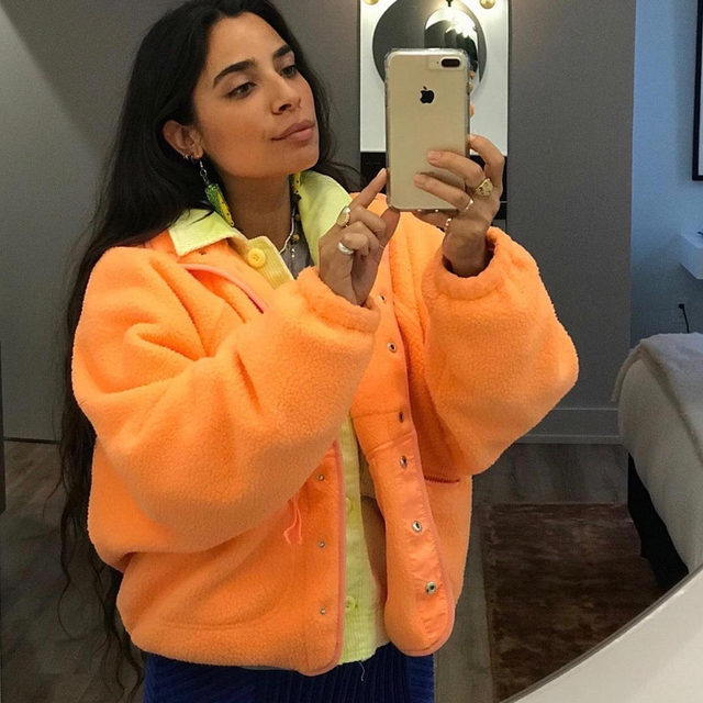 Mondays are a bit brighter in the Hit The Slopes Jacket. @vbiancav