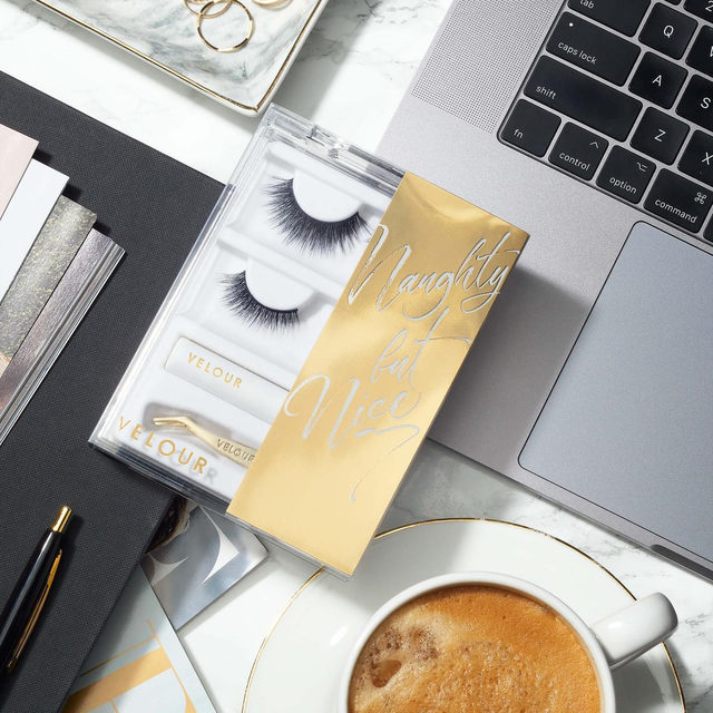 Wednesday Necessities:  ✔️ Coffee ☕ ✔️ Accessories 💍  ✔️ Lashes ❤️   ✨ Get through the week with our NEW Naughty But Nice kit - featuring Fluff'n Edgy from our Silk Collection and Mini Me from our Effortless Collection. ✨   We got you covered with a mini White Latex-Free Lash Adhesive and mini Too Easy Applicator, so you can touch up on the go! 👊   Available exclusively at @Sephora!   #VelourBeauty #VelourLashes #VelourxSephora #NewAtSephora #NaughtyButNice