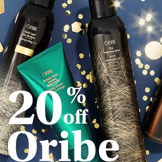 📢 @oribe is now 20% off in the Birchbox shop. Yes, you read that right but we'll say it again — Oribe. Is. 20%. Off! 🙌🏽 Use the code ORIBE20 at checkout. Hurry, this is only valid until 10/27!