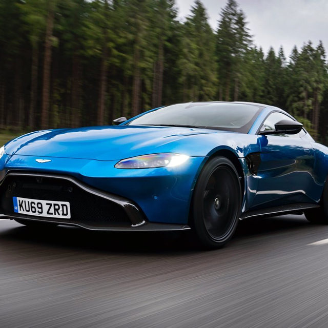 The Vantage AMR is the first new Vantage to come with a manual transmission. It comes with the same 4.0-liter twin-turbo V-8 as the standard car, getting power to the rear wheels via a mechanical limited-slip differential (versus the standard car's electronic diff). The thing is, it's probably not the manual Aston you want. If you're dying for a manual Vantage, you might want to wait for the base car. At least, that's what we think after driving it for the first time.