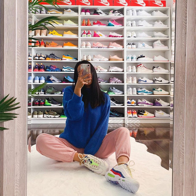 Can we talk about snkrsangel's #PoshKicks collection? 🔥 Head over to our Shop highlight to shop her closet!