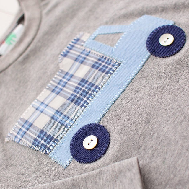 The perfect little combination of comfy and cute. Our Sussex Truck T Shirt is calling his name. In stock ready to ship!