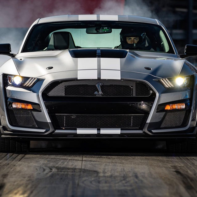 The Ford Mustang Shelby GT500 makes 760 horsepower feel normal... until you really start to play with it. Thanks to a seven-speed dual-clutch—a first for the Mustang—and a ton of carbon fiber parts, it's equal-parts muscle car and track-carver. Would you have it over a Hellcat Widebody?