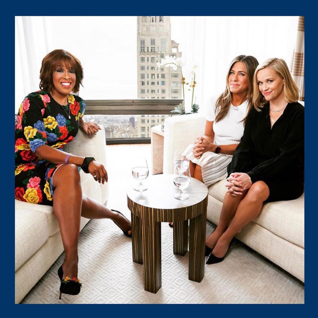 Sorry but we just can't get over @gayleking with #reesewitherspoon and #jenniferaniston in our Still Life Perfect Pumps ❤️ #walklikeawoman