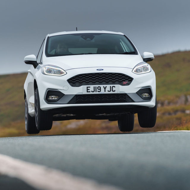 The New Fiesta ST is the best Ford you can't buy. To get our hands on the newest version of one of our favorite hot hatches, we went to Wales. It didn't disappoint. Do you think Ford should've sold it here? 📸: @deanphoto