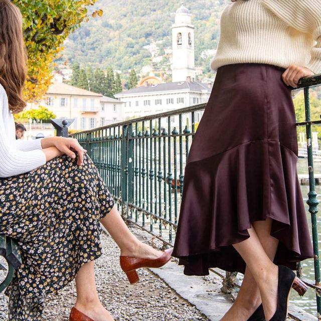 Team Sarah Flint takes Lake Como 🇮🇹✨ #walklikeawoman