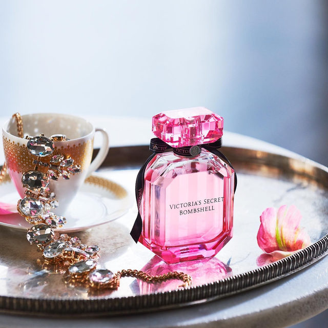 Our iconic Bombshell fragrance makes the #PerfectGift. See more @vsbeauty.