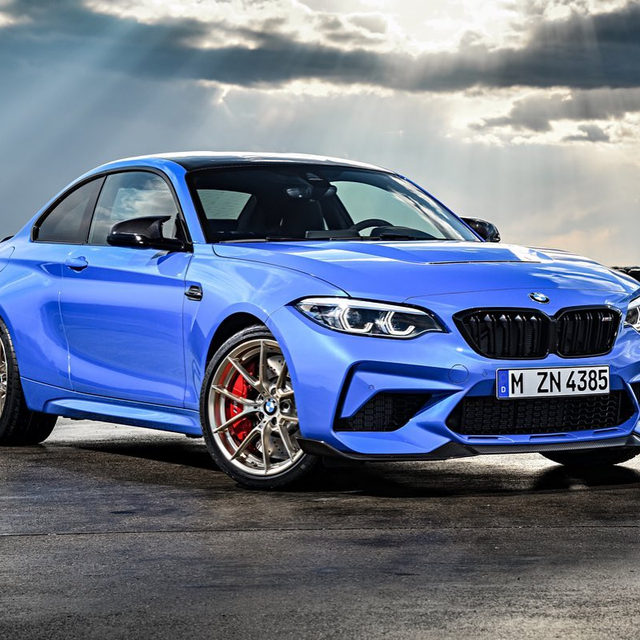 The 2020 BMW M2 CS is finally here, and it's packing 444 horsepower and a whole bunch of carbon fiber reinforced plastic. It also has something its bigger brother, the M4 CS, doesn't: a true six-speed manual transmission. Adaptive M suspension is standard, and Michelen Pilot Sport Cup 2s are available as an option. Would you spring for the stick shift, or order one with the seven-speed DCT?