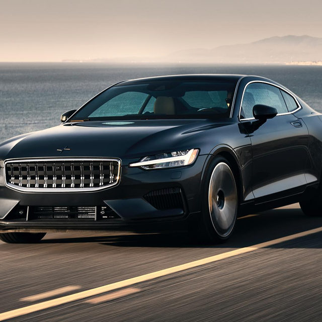 The Polestar 1 drives as beautifully as it looks. It's the first vehicle to wear the Polestar badge, and it's the twisty-roads hybrid coupe of your dreams, according to contributor @jasoncammisa. If only your dreams were this pretty. Are you a fan of the design?