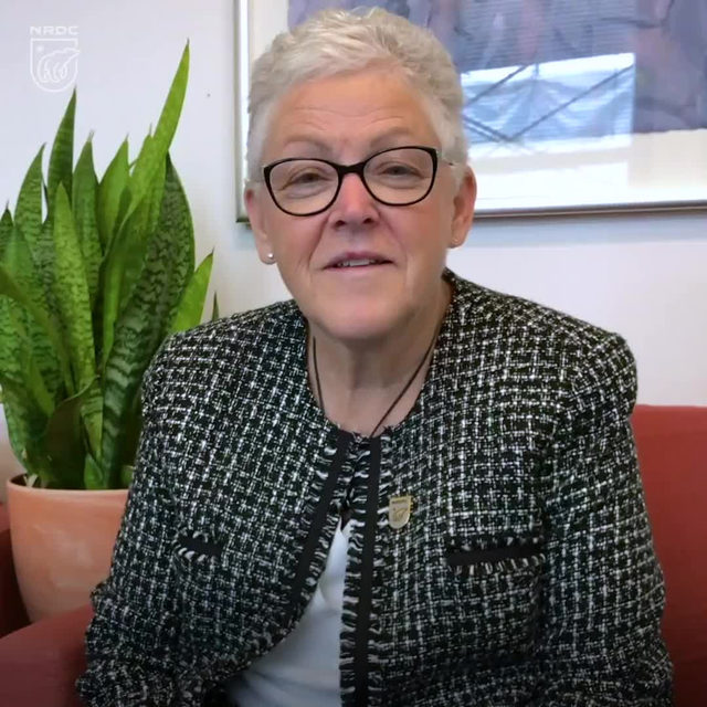 Big news! Excited to announce NRDC's new president: Gina McCarthy! Gina McCarthy is one of the most effective environmental champions of our time. We're excited for her to join our fight to combat climate change and defend bedrock natural resources and public health protections. Read our full statement via link in bio.