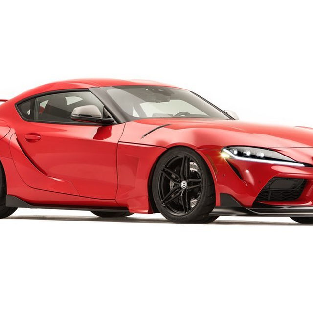 This is what the 2020 Toyota Supra should've looked like from the start. That MK IV-style wing should be standard on every new production Supra. The fact that it isn't is a tragedy. The car you see here is a one-off built by Toyota called the Heritage Edition, taking styling cues from the Supra of the '90s, including the headlights, taillights, and that wing. There's also HRE wheels, Brembo brakes, and a 503-horsepower tune. Do you think that wing should be available on the production version?