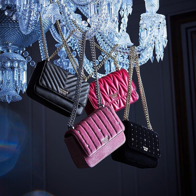 Deck the halls with luxe handbags...one for everyone on your list. Discover more @vsbeauty.