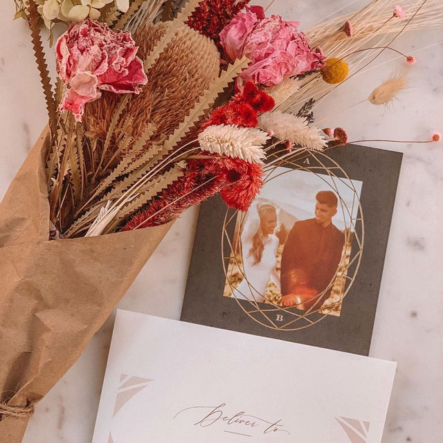 "Brides and grooms-to-be, it's time to celebrate. ✨  The @Minted Semi-Annual FREE Foil Event starts today! Enjoy 20% off all foil-pressed products; 25% off Save the Dates with code: SHINE19. Ends Mon 11/11 at 11:59pm PT. — ""Mirror Mirror"" foil-pressed wedding invitation @fat.fa.tin. Photo @brianaalvarezz_ #MintedWeddings . . . . . #engaged #weddingideas #weddinginspiration #weddingdetails #weddingphotography #weddingplanning #weddingflatlay #justengaged #thatsdarling #pursuepretty #theknot #sayido #howtheyasked #marthaweddings #foilinvitations #foil #foilpressed #fallwedding #winterwedding #destinationwedding #design #style #art #diy #wedding"